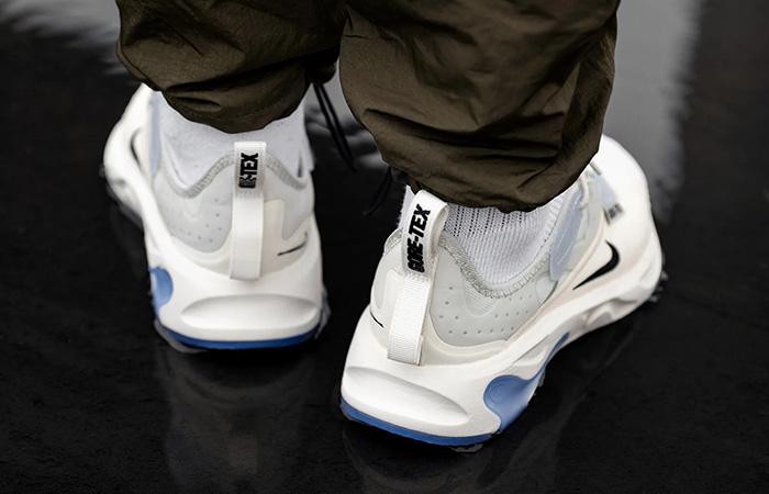 Gore-Tex Nike React N.354 Sail BQ4737-002 on foot 03