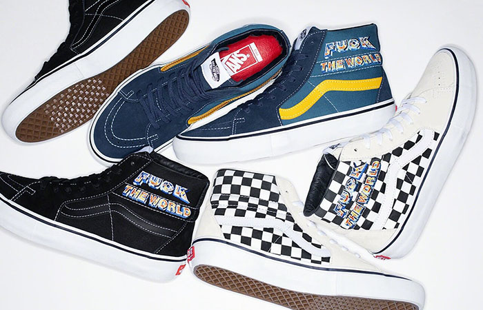 Here Is The Official Look At Supreme Vans Sk8-Hi Fall Winter 2019 Collection ft