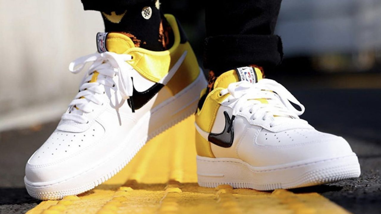 Here Is The On Foot Look At Upcoming Nike Air Force 1 07 Lv8 Nba