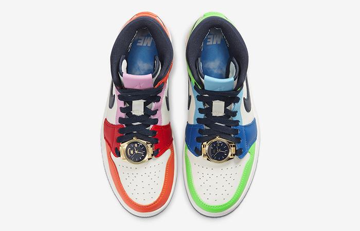 Melody Ehsani Nike Womens Air Jordan 1 Mid Fearless Multi CQ7629-100 04