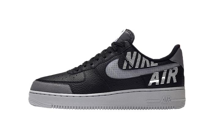 Nike Air Force 1 Low Under Construction Grey Black BQ4421-002 01