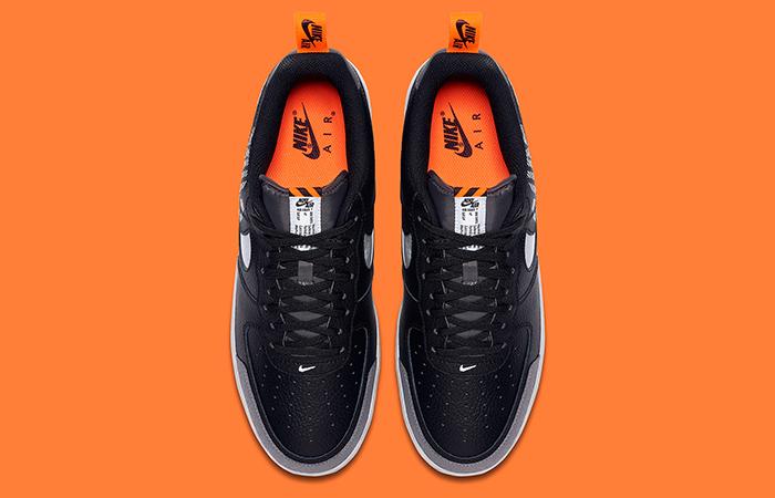 Nike Air Force 1 Low Under Construction Grey Black BQ4421-002 04