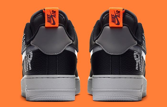 Nike Air Force 1 Low Under Construction Grey Black BQ4421-002 05