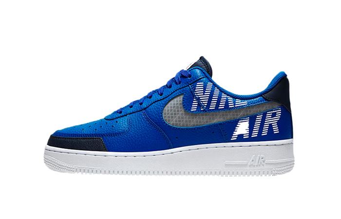 Nike Air Force 1 Low Under Construction Grey Blue BQ4421 400