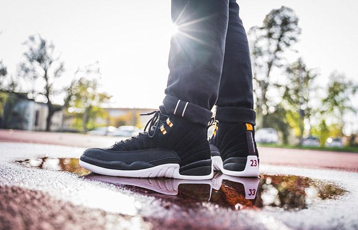 Nike Air Jordan 12 Reverse Taxi Black 130690 017 Fastsole