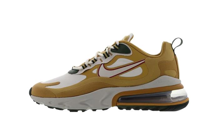 Nike Air Max 270 React Gold White AO4971-700 01