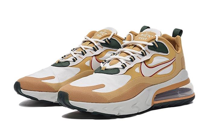 Nike Air Max 270 React Gold White AO4971-700 02