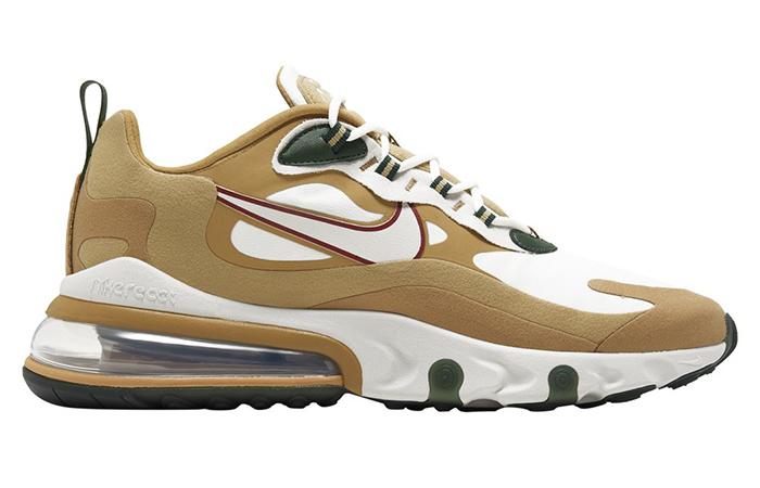 Nike Air Max 270 React Gold White AO4971-700 03