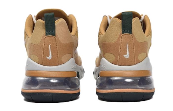 Nike Air Max 270 React Gold White AO4971-700 05