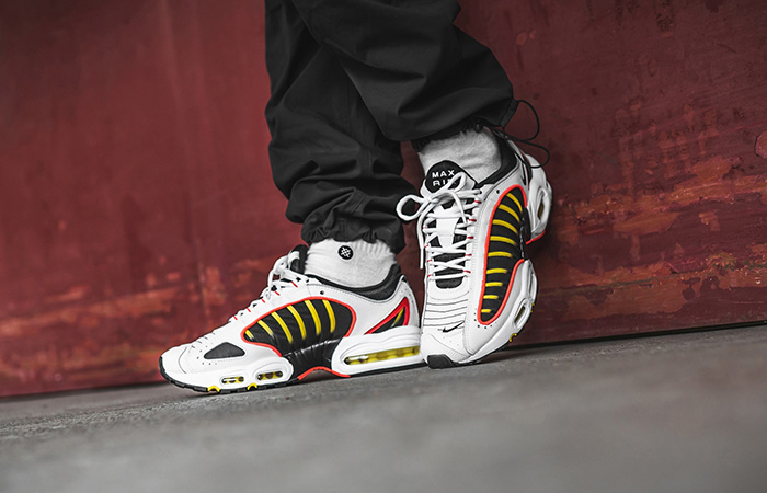 Nike Air Max Tailwind 4 Gold White AQ2567-109 on foot 01