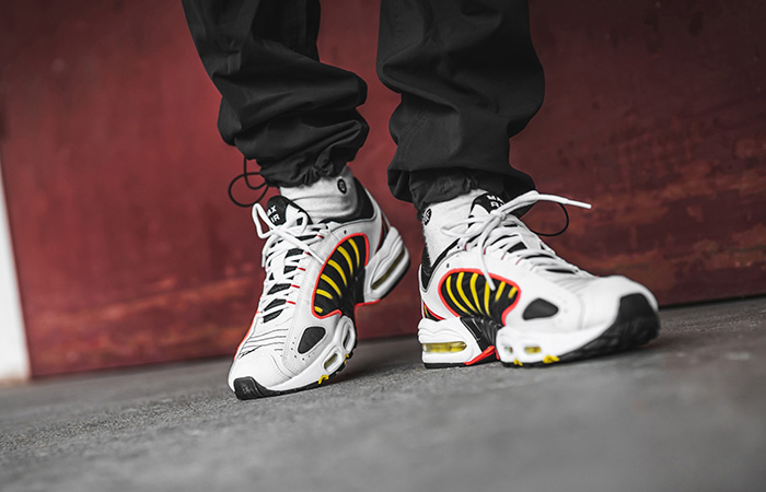 Nike Air Max Tailwind 4 Gold White AQ2567-109 on foot 02