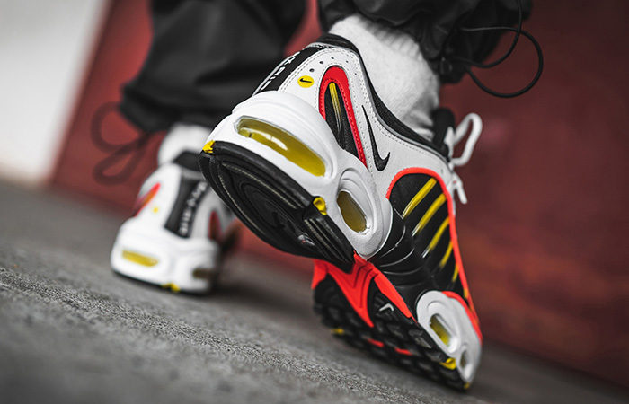 Nike Air Max Tailwind 4 Gold White AQ2567-109 on foot 03