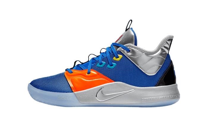 Nike Basketball PG3 Blue Orange CI2666-400 01