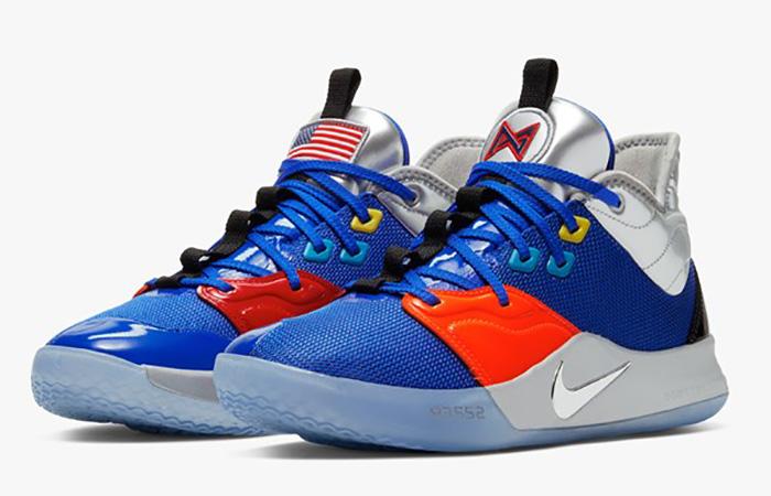 Nike Basketball PG3 Blue Orange CI2666-400 03