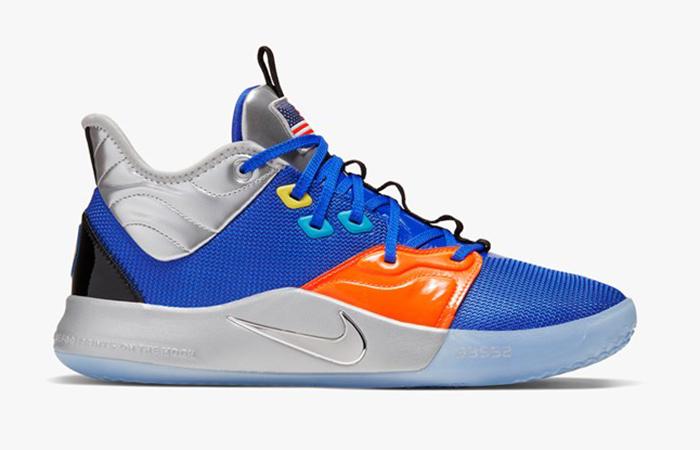 Nike Basketball PG3 Blue Orange CI2666-400 04