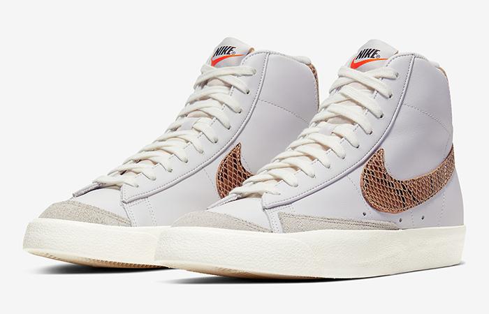 Nike Blazer Mid 77 Snakeskin White CI1176-002 02