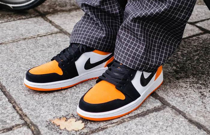 Nike Jordan 1 Low Shattered Backboard 553558-128 on foot 01