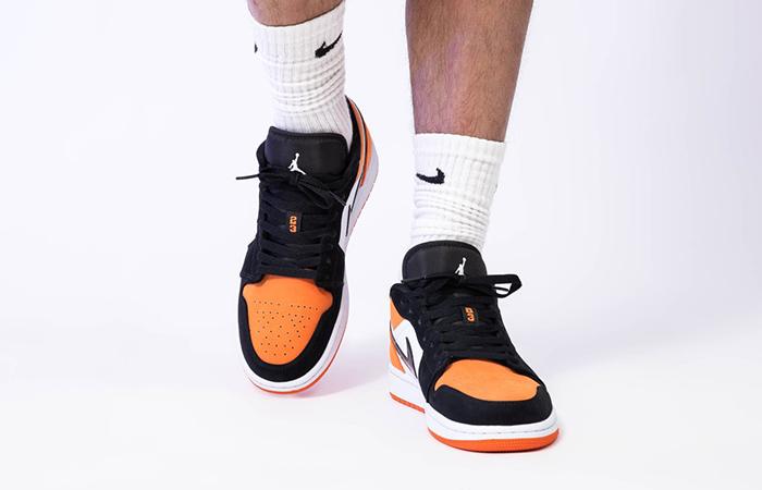 Nike Jordan 1 Low Shattered Backboard 553558-128 on foot 02