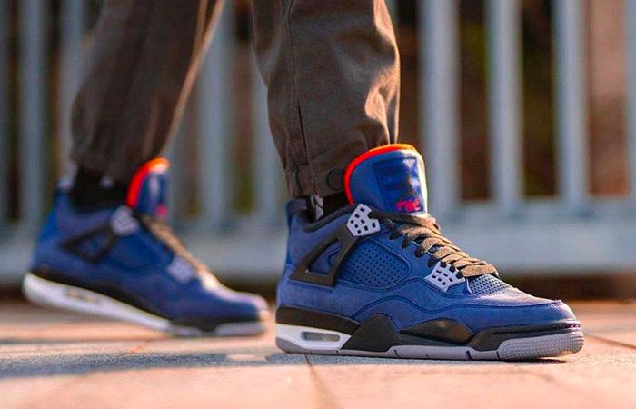 Nike Jordan 4 WNTR Navy Blue CQ9597-401 on foot 01