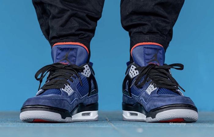 Nike Jordan 4 WNTR Navy Blue CQ9597-401 on foot 02