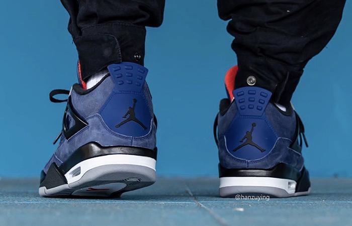 Nike Jordan 4 WNTR Navy Blue CQ9597-401 on foot 03
