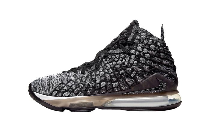 Nike LeBron 17 Black BQ3177-002 01