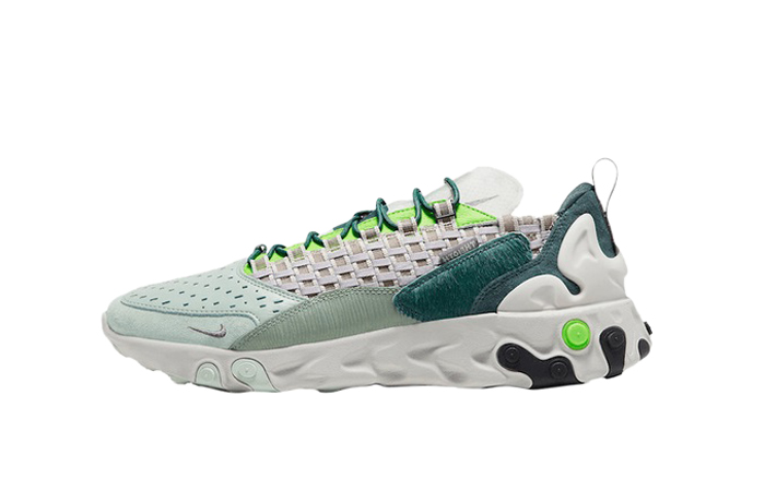 Nike React Sertu Lime Green CT3442-300 01