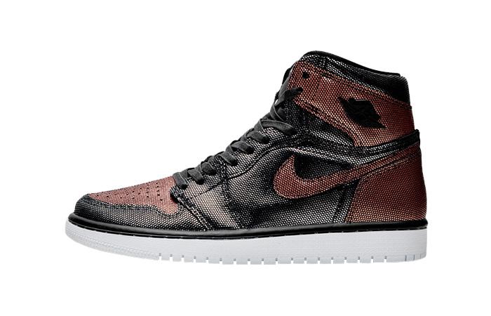 Nike Womens Air Jordan 1 High OG Metalic Rose Gold CU6690-006 01