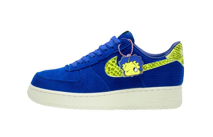Olivia Kim Nike Womens Air Force 1 07 Blue CK3314-400 01