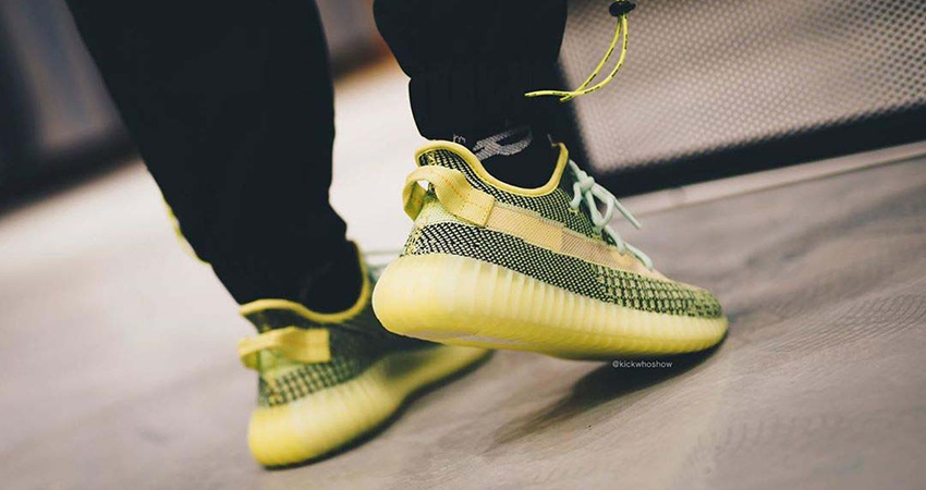 On Foot Look At The Upcoming Yeezy Boost 350 V2 'Yeezreel Reflective' 03