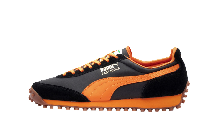 Puma Fast Rider OG Black Orange 372876-01 01