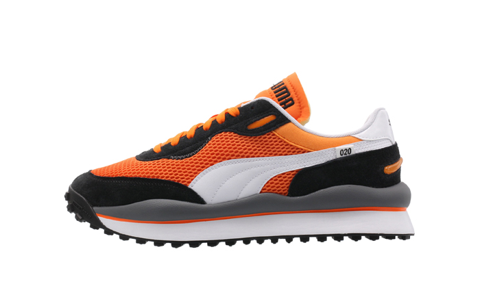 Puma Style Rider OG Black Orange 372871-01 01