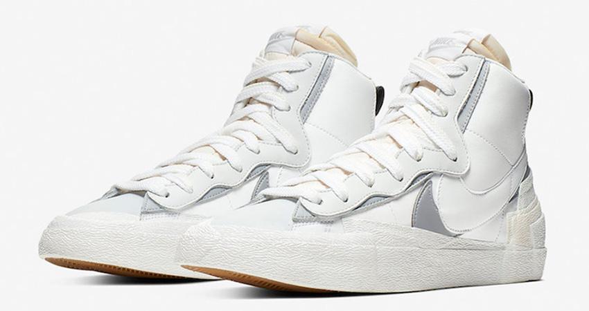 Sacai Nike Blazer Mid Debuting With Black And White Colour Combination 02