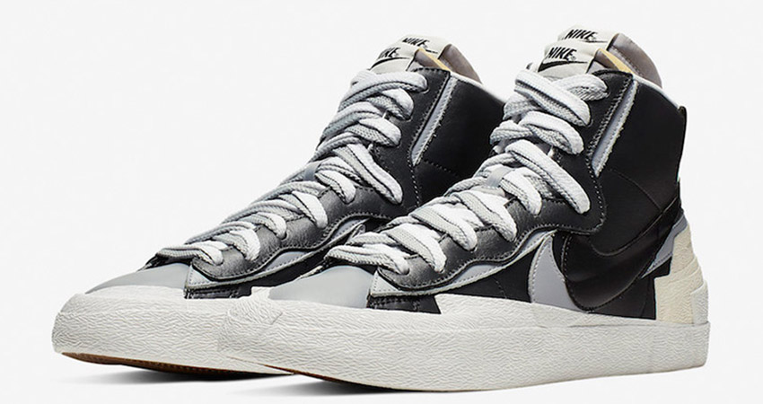 Sacai Nike Blazer Mid Debuting With Black And White Colour Combination 06