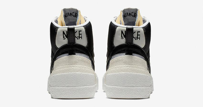 Sacai Nike Blazer Mid Debuting With Black And White Colour Combination 08