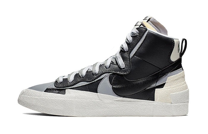Sacai Nike Blazer Mid Debuting With Black And White Colour Combination ft