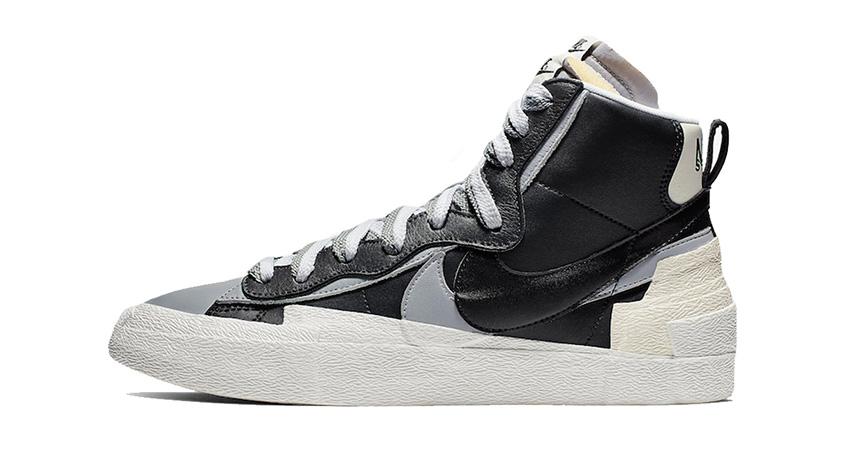 Sacai Nike Blazer Mid Debuting With Black And White Colour Combination