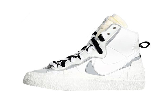 Sacai Nike Blazer Mid White Grey BV0072-100 01