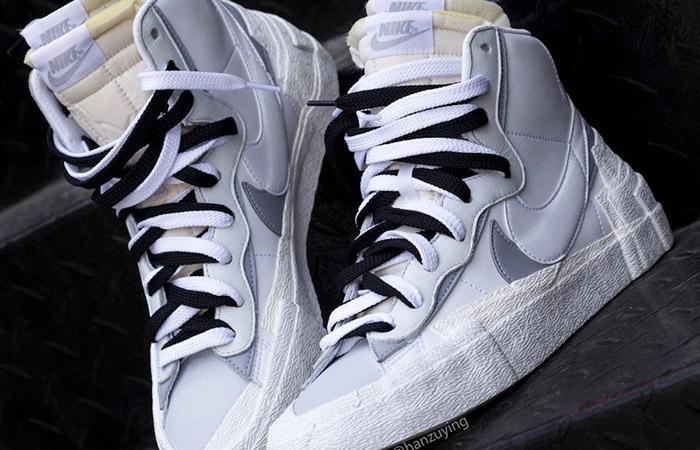 Sacai Nike Blazer Mid White Grey BV0072-100 03