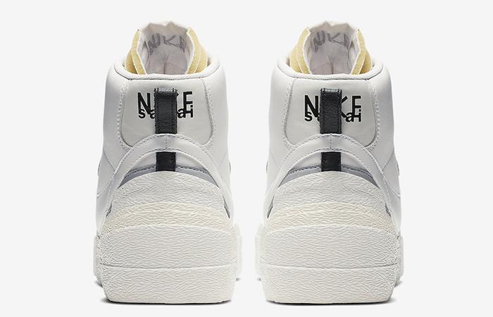 Sacai Nike Blazer Mid White Grey BV0072-100 08