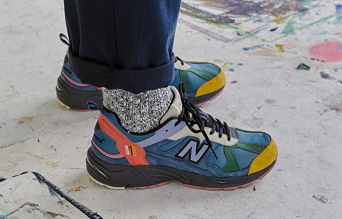 Size Teamed Up With New Balance For A Colourful 878 Exclusive ft