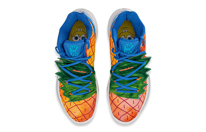 SpongeBob Nike Kyrie 5 Pineapple House CJ6951-800 03