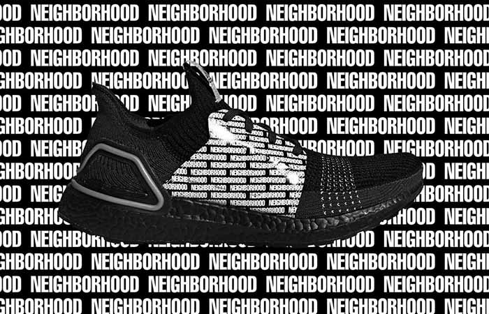 The NEIGHBORHOOD adidas Ultra Boost 19 Dropping With An Unique NEIGHBORHOOD Printing ft