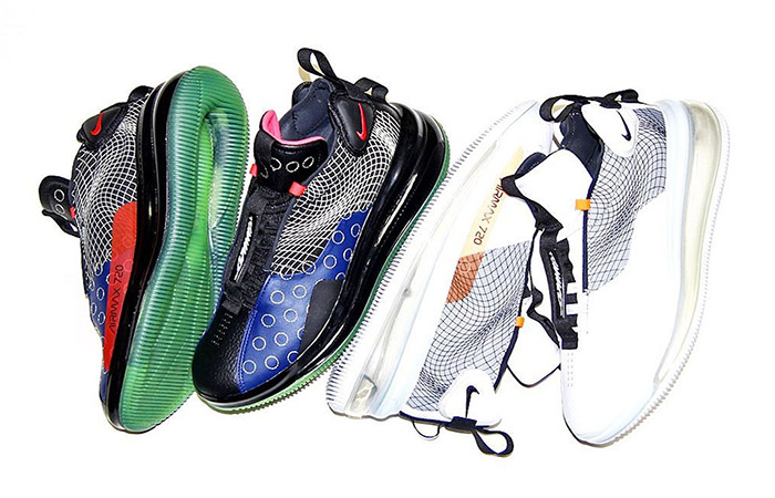 The Nike DMSX Air Max 720 Waves Is Coming With 3 Futuristic Colorways ft