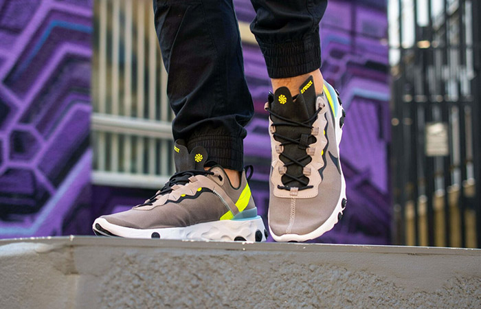 Lengua macarrónica fuga de la prisión extinción  The Nike Element React 55 Grey Volt Is Only £80 At Footlocker – Fastsole