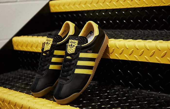 The adidas OLSO Black Yellow Is A Must Cop Trainner For Any Celebration ft