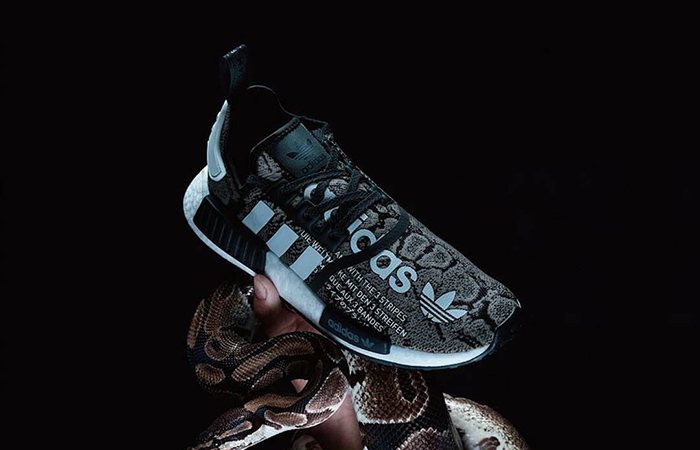 The atmos adidas NMD R1 'G-SNK' Gets A Closer Look ft