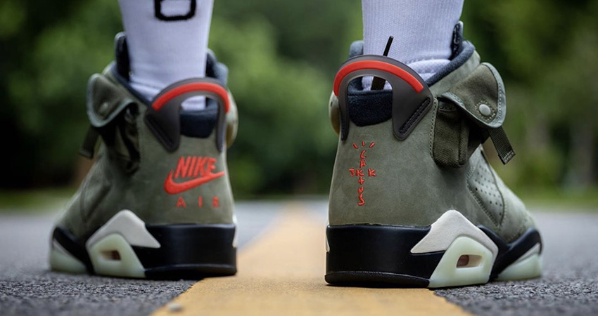 Travis Scott Air Jordan 6 Olive Has Become The Upcoming Hit!! 03