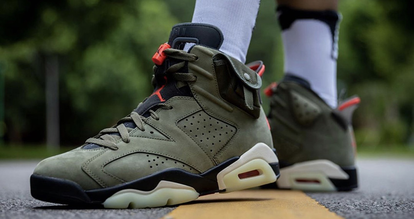 Travis Scott Air Jordan 6 Olive Has Become The Upcoming Hit!!