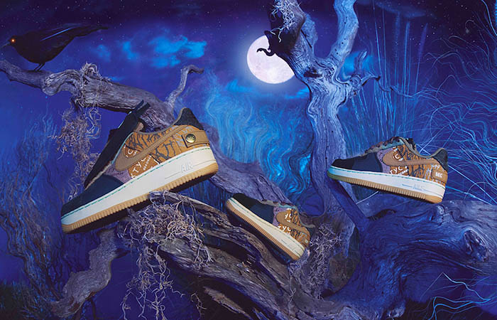 Travis Scott Nike Air Force 1 Low Cactus Jack Coming With Full Family Sizes ft